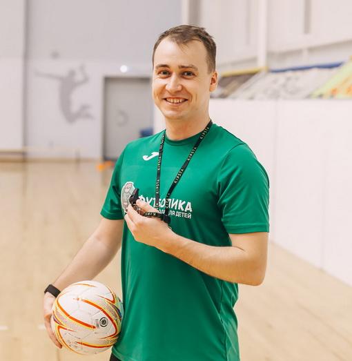 тренер футболики Андрей Красильников